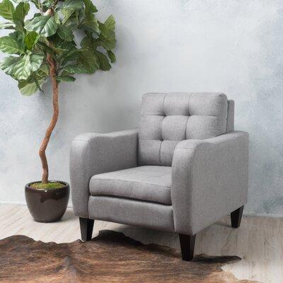 Deleon Armchair Upholstery: Gray