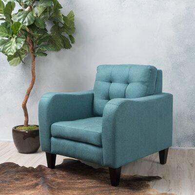 Deleon Armchair Upholstery: Dark Teal