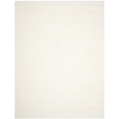 Brickner White Area Rug Rug Size: Rectangle 8 x 10