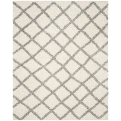 Brant Ivory Area Rug Rug Size: Rectangle 8 x 10