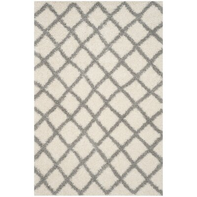 Brant Ivory Area Rug Rug Size: Rectangle 6 x 9