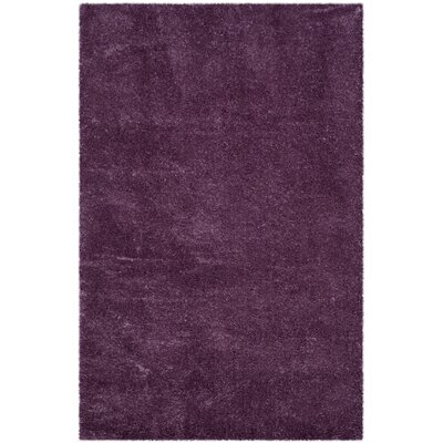 Slayton Purple Area Rug Rug Size: Rectangle 53 x 76