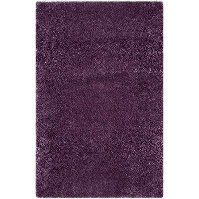 Slayton Purple Area Rug Rug Size: Rectangle 4 x 6