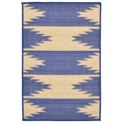 Bynum Blue Indoor/Outdoor Area Rug Rug Size: Rectangle 111 x 211