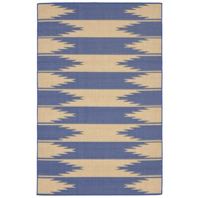 Bynum Blue Indoor/Outdoor Area Rug Rug Size: Rectangle 410 x 76