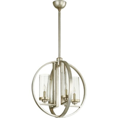 Goodrow Transitional 4-Light Globe Pendant