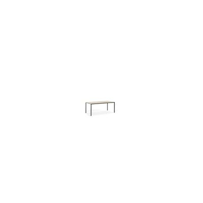 Condie Family Dining Table Base Color / Top Color: White/Walnut, Size: 29.53 H x 70.87 W x 35.43 D