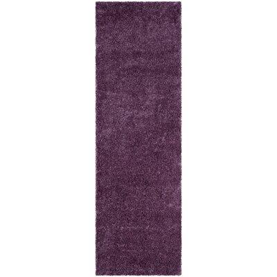 Slayton Purple Area Rug Rug Size: Runner 23 x 7