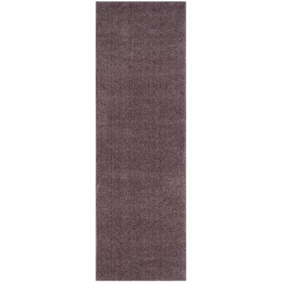 Blackstock Violet Area Rug Rug Size: Runner 23 x 7