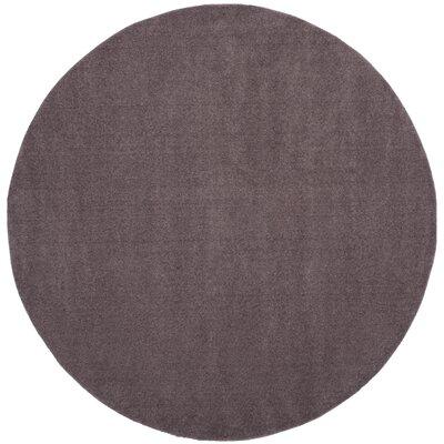 Blackstock Violet Area Rug Rug Size: Round 67