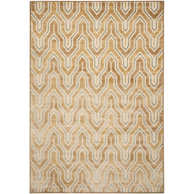 Gabbro Taupe/Beige Area Rug Rug Size: Rectangle 76 x 106