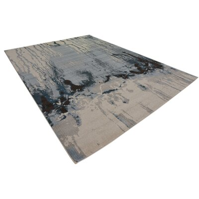 Brister Light Blue Area Rug Rug Size: Rectangle 5 x 8