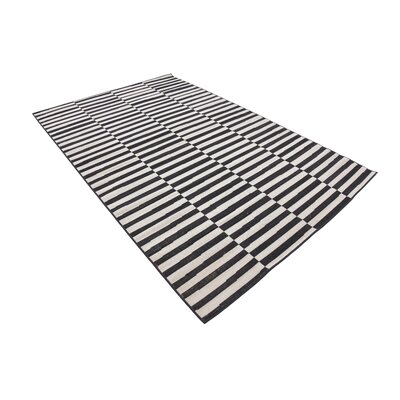 Braxton Black Area Rug Rug Size: Rectangle 8 x 10