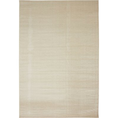 Bayswater Beige Area Rug Rug Size: Rectangle 7 x 10