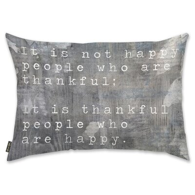 Happy People Lumbar Pillow