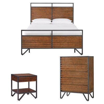 Durham Stacked Wood Sleigh Configurable Bedroom Set