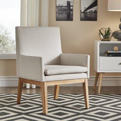 Derrickson Armchair Upholstery : Beige