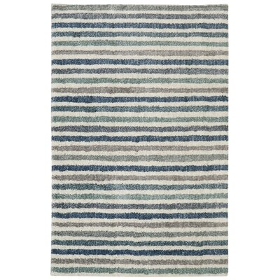 Norvell Blue Area Rug Rug Size: Rectangle 8 x 10