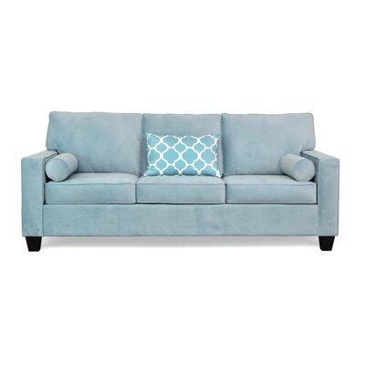 Doering Sofa Upholstery: Oakley Aqua / Patio Aqua