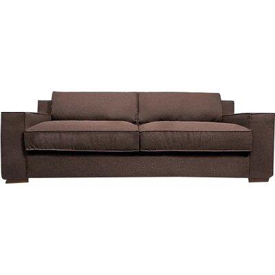 Calderon Capri Sofa Upholstery: Brown