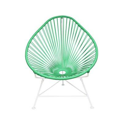 Canela Papasan Chair Finish: Seafoam, Finish: White