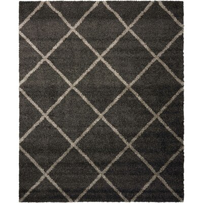 Psyche Charcoal Area Rug Rug Size: Rectangle 82 x 10