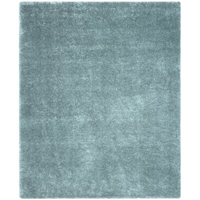 Virgo Light Blue Area Rug Rug Size: Rectangle 8 x 10