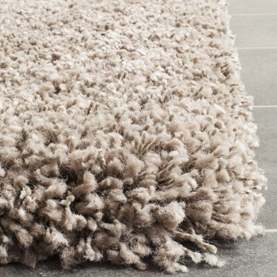 Brickner Taupe Area Rug Rug Size: Rectangle 8 x 10