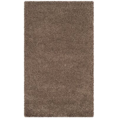 Brickner Taupe Area Rug Rug Size: Rectangle 3 x 5