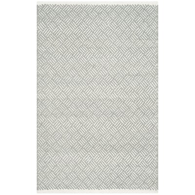Arbuckle Gray Area Rug Rug Size: Rectangle 26 x 4