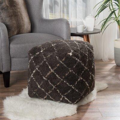 Amoroso Pouf Upholstery: Charcoal