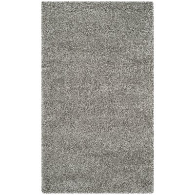 Arce Silver Area Rug Rug Size: Rectangle 3 x 5