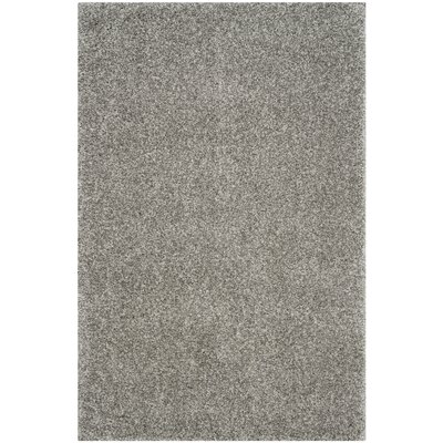 Arce Silver Area Rug Rug Size: Rectangle 4 x 6