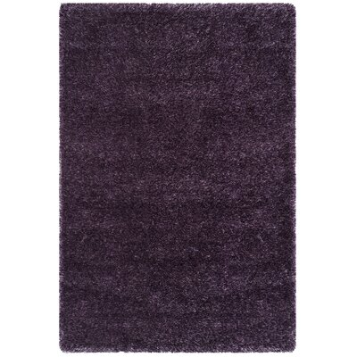 Virgo Lavender Area Rug Rug Size: Rectangle 4 x 6