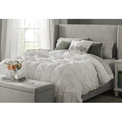 Hodgson Pintuck All Season Down Alternative Comforter Size: Full/Queen