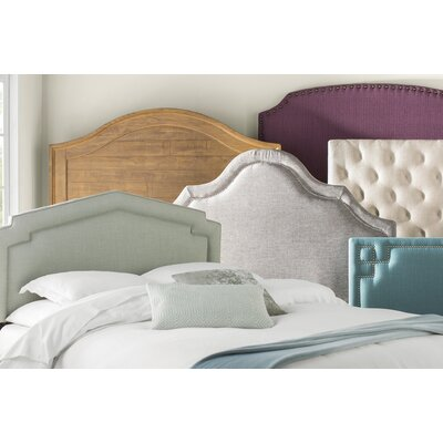 Tripoli Upholstered Panel Headboard Size: Queen, Upholstery: Beige