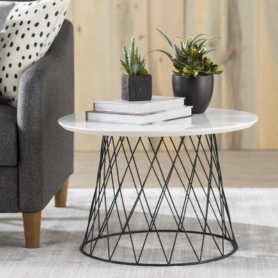 Brickley Coffee Table Color: Black