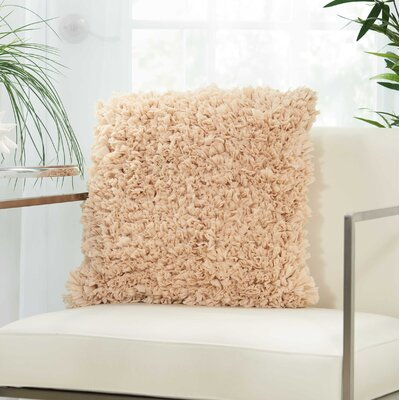 Bresnahan Throw Pillow Color: Beige