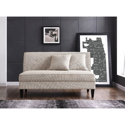 Perseus Loveseat Upholstery: Oatmeal