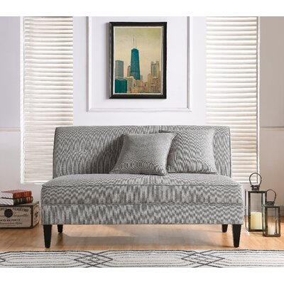 Perseus Loveseat Upholstery: Dove Gray