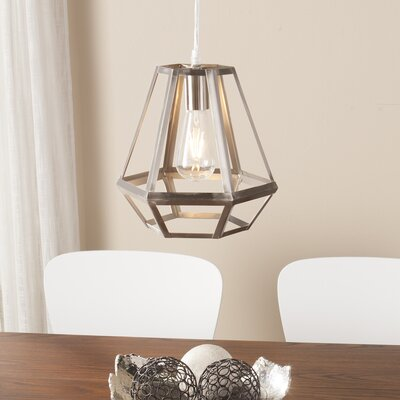Brinckerhoff 1-Light Foyer Pendant Finish: Brushed Nickel