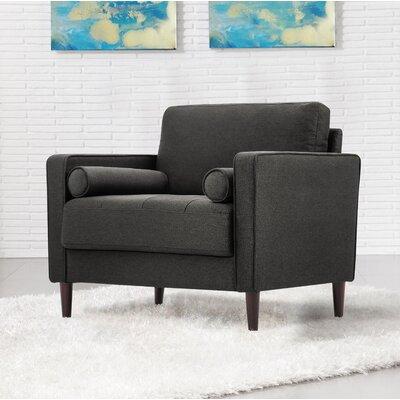 Garren Armchair Upholstery: Heather Gray