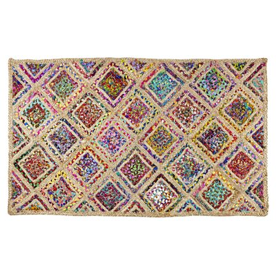 Diamond Area Rug Rug Size: Rectangle 5 x 3