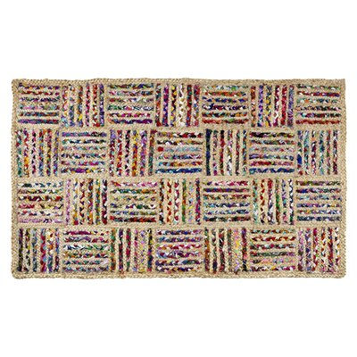 Criss Cross Area Rug Rug Size: Rectangle 5 x 3