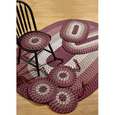 Fontenay 7 Piece Burgundy Indoor/Outdoor Area Rug Set