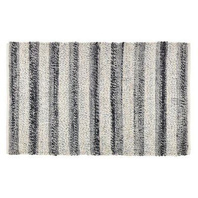 Hamelin Black/Ivory Area Rug