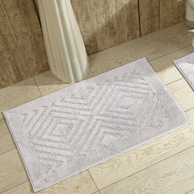 Trier Bath Mat Color: White