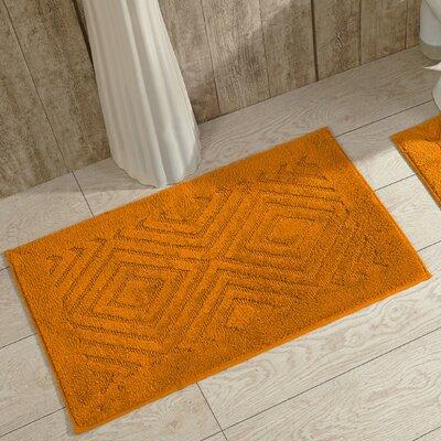 Trier Bath Mat Color: Orange
