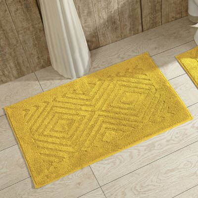 Trier Bath Mat Color: Yellow