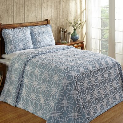 Rosa Bedspread Color: Blue, Size: Full